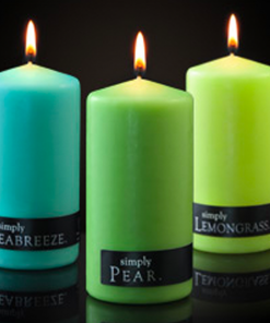 Simply Pillar Candles