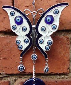 Evil eye necklace and bracelets