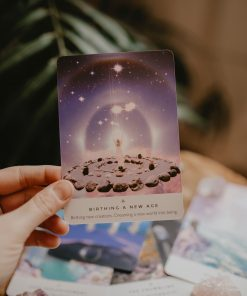 Spiritual books and oracle cards