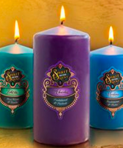 Spirit of the Orient Pillar Candles
